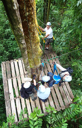 Corcovado Canopy Tour in Drake Bay, Costa Rica