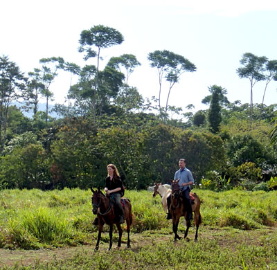 Horse Tours in Drake Bay, Costa Rica